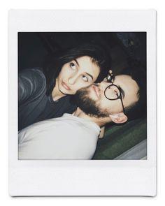 Mona Lisa, Polaroid Film, Hoop Earrings, Couples, Artwork, Work Of Art, Couple, Earrings