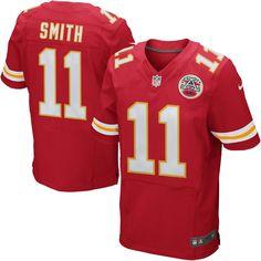 Alex Smith Kansas City Chiefs Nike Elite Jersey – Red