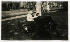 """Coche de pedales """"Zach zoom"""" vintage Foto Foto Foto antigua Foto antigua negro…"""