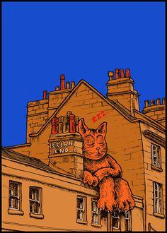 DOZING WITH BRIAN ENO George St Bath BA1 2EH, UK 51.384671, -2.362691