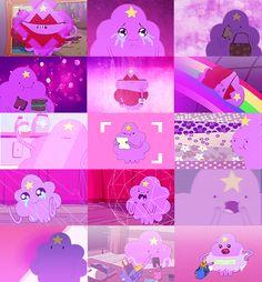 Lumpy Space Princess + Purple (Adventure Time)