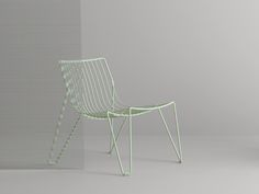 Pastel Green Tio Easy Chair by Massproductions