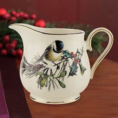 32 best lenox winter greetings images on pinterest christmas china lenox winter greetings winter greetings creamer m4hsunfo
