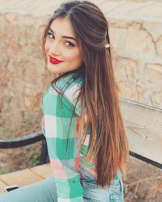 Hairstyles For Girls .Hairstyles For Girls Cute Girl Pic, Cute Girl Poses, Stylish Girls Photos, Stylish Girl Pic, Girl Pictures, Girl Photos, Dp Photos, Cute Brunette, Girl Trends