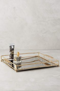 Brass Bamboo Tray - anthropologie.com #anthrofave