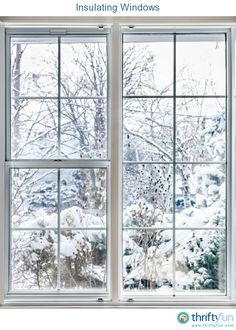 This is a guide about insulating windows. To make your home more comfortable, both cozy in winter and cooler in summer, seal for drafts and insulate.
