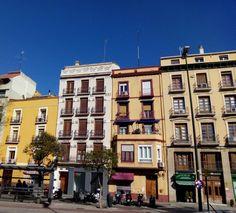 Día soleado (aunque algo fresco) en la plaza San Miguel, disfruten del sábado