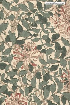 William Morris - Honeysuckle
