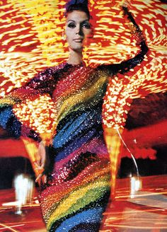 1965, Isabella in Cardin, photo by William Klein .... definitely, groovy