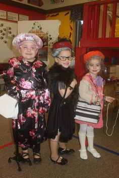 100 Years old - 100th Day of School @Karen Quinney - Can we PLEASE do this?!