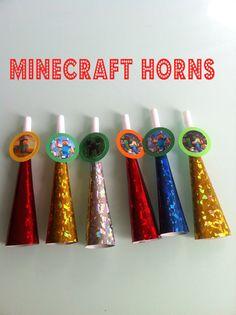 12 Minecraft Horns