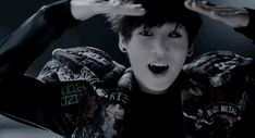 """lethallergic: """"Tokyoghoul!au (inspired) in which Jungkook is the school's popular football player and is turned half-ghoul, half-human after a hungry ghoul, disguised as a female student, attacks him one night after a game but is mysteriously killed,..."""