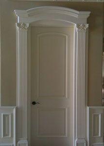 Adding crown molding over door frame                                                                                                                                                                                 More