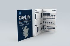 CITYLIFE - Advertising Rate Card Book showing front covers and inner pages.