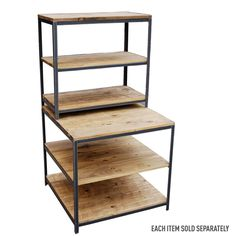 Small Mid-Floor Retail Display Table | Wooden Display Tables
