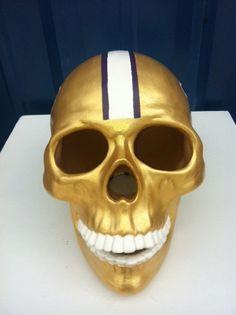 UW University of Washington Huskies Skull by SugarSkullzByDesign, $99.99