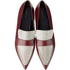 シューズ ❤ liked on Polyvore featuring shoes and celine