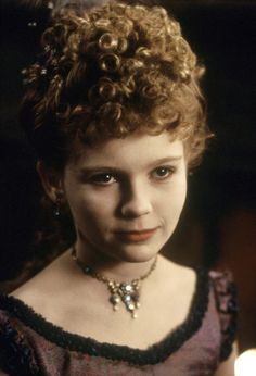 "Kirsten Dunst remains the cutest little vampiress you'd never want to meet in a dark alley, seen here in 1994's ""Interview With The Vampire"""