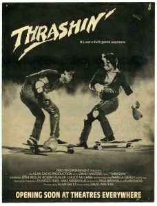 Thrashin' the ultimate skateboarding movie in the Skateboard Photos, Skate Photos, Skateboard Design, Skateboard Decks, Old School Skateboards, Vintage Skateboards, Kids Mode, Josh Brolin, Skate And Destroy