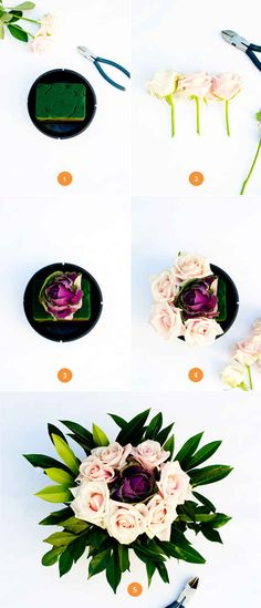 Easy Make-Ahead Floral Table Centerpieces | 37 Things To DIY Instead Of Buy For Your Wedding