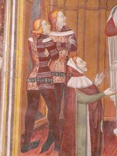 Medieval World, Medieval Art, Renaissance Art, Medieval Fashion, Medieval Clothing, Middle Ages Clothing, 14th Century Clothing, Historical Women, Historical Photos