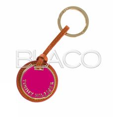 Tommy Hilfiger TH Pendant Keyfob Bright Pink