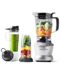 Magic Bullet NutriBullet® Blender Combo with Single Serve Cups, Created. Nutritious Smoothies, Easy Smoothies, Protein Smoothies, Fruit Smoothies, Kitchenaid, Smoothie Detox, Smoothie Bowl, Best Blenders, Food Blenders