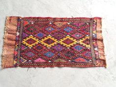 2x3 Colorful Boho Kilim Rug, Small Turkish Carpet, Oriental Rug #RugToGo