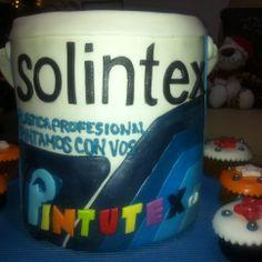 Torta Galon de Pintura Solintex