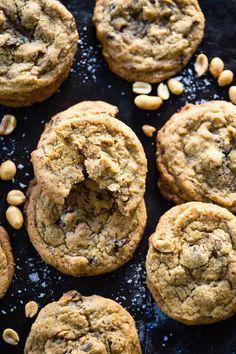Peanut Cookies, Skillet Cookie, Recipe Boards, Sugar Cravings, Cookie Jars, Shortbread, Biscotti, Food Inspiration, Nom Nom