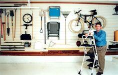 sparky Organized Garage, Garage Organization, Garages, Stationary, House, Garage, Haus, Home, Car Garage