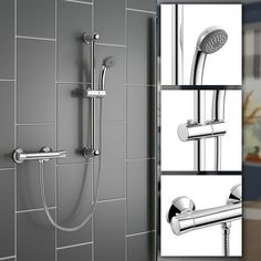 Installing more efficient shower heads can save you tons of money on your energy bill -- You can get more ideas by clicking on the image. #showerplumbing