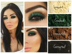 Only 4 of our natural Mineral Pigments needed to create this look :) #Younique #loveyourlashes