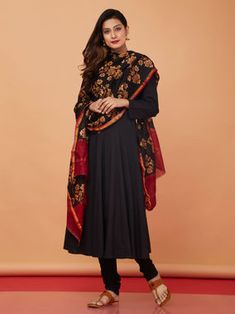 The Loom- An online Shop for Exclusive Handcrafted products comprising of Apparel, Sarees, Jewelry, Footwears & Home decor. Salwar Designs, Kurta Designs Women, Blouse Designs, Dress Indian Style, Indian Dresses, Indian Outfits, Indian Attire, Indian Wear, Casual Summer Outfits For Women