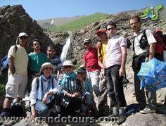 تور یک روزه : تور یک روزه آبشار خلنوآبشار خلنو در دامنه قله با ...