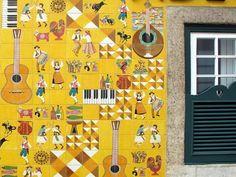 Fachada da Casa de Fados - Adega Machado no Bairro Alto em Lisboa - PORTUGAL