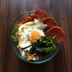 Korean Spam Rice Bowl Recipe by kaitlynmanahan on #kitchenbowl