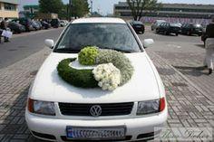 Bride's Cars : Picture Description a Perfect Wedding, Diy Wedding, Wedding Flowers, Wedding Cars, Wedding Car Decorations, Flower Decorations, Crochet Waffle Stitch, Flower Car, S Car