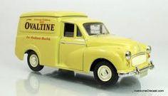 Bildergebnis für Morris Minor van Ovaltine, Morris Minor, Wooden Toys, Van, Yellow, Wooden Toy Plans, Wood Toys, Woodworking Toys, Vans