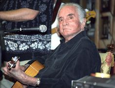 Johnny Cash at his final performance in 2003