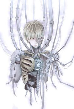 Tags: Anime, Pixiv Id 3722752, One Punch-Man, Genos, Cyborg