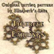 Tigereye Earrings - via @Craftsy