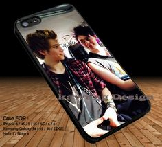 Luke Hammings and Michael Clifford 5 Seconds of Summer DOP2190 case/cover for iPhone 4/4s/5/5c/6/6 /6s/6s  Samsung Galaxy S4/S5/S6/Edge/Edge  NOTE 3/4/5 #music #5sos