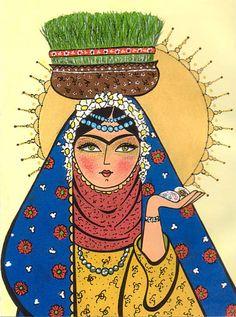 saleh no mobarak- Persian New Year iphone wallpaper
