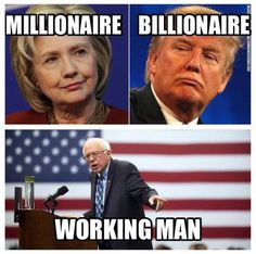Bernie's net worth, even including his house, is a few hundred thousand dollars.  Yes, that's still a lot of money, but not when you consider how he could have used his position in politics to make himself extremely wealthy.
