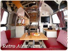 Retro airstream caravan...gorgeous!