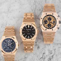 THE GOLDEN BOYS by Audemars Piguet. #luxurywatches