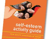 """From Dove's """"Social Mission"""" site, a series of Self Esteem guides and activities - including sets specifically geared for Girl Scouts (Daisy set, Brownie set, Junior set) and tied to Journeys and patches 