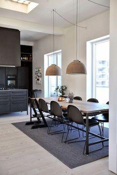 Binnenkijken | Trendy loft in de oude potloodfabriek van Kopenhagen • Stijlvol Styling - Woonblog •