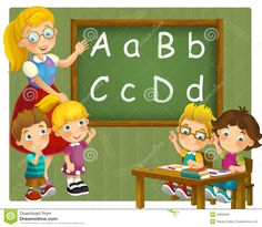 https://thumbs.dreamstime.com/z/going-to-school-illustration-children-happy-colorful-30885009.jpg